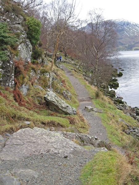 Ullswater shoreline path