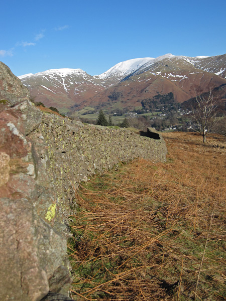 Towards Grasmere village