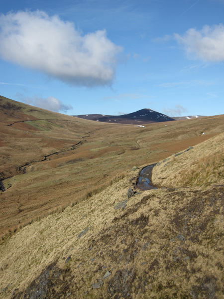 Great Calva from the Blencathra Centre to Skiddaw House track
