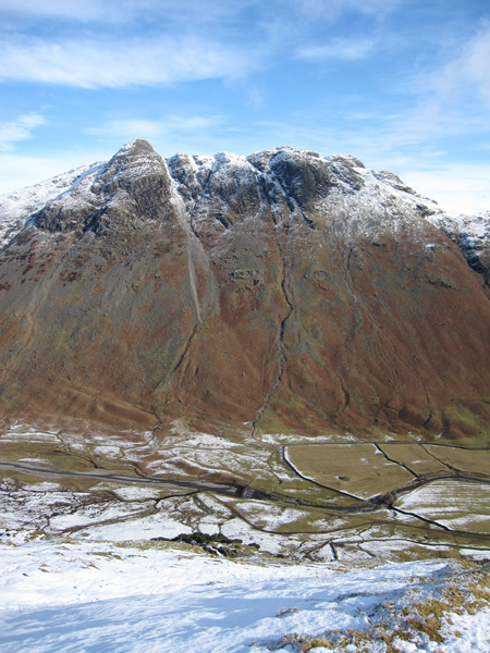 The Langdale Pikes from The Band