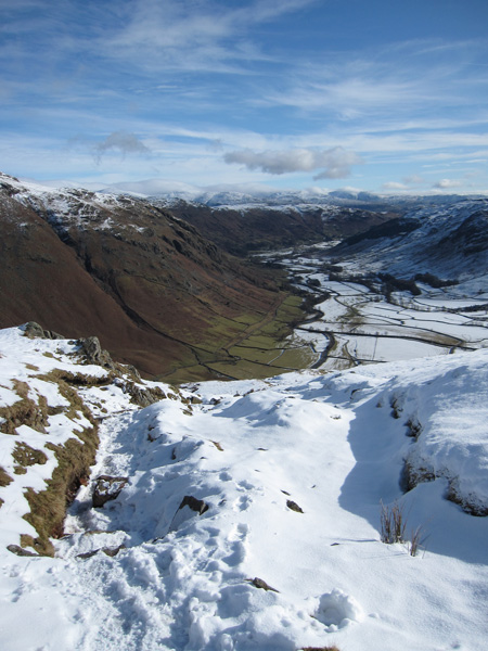 Great Langdale from The Band