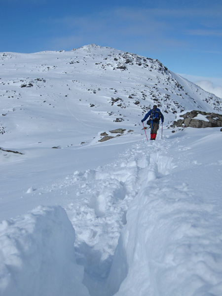 Approaching Ore Gap with Esk Pike ahead