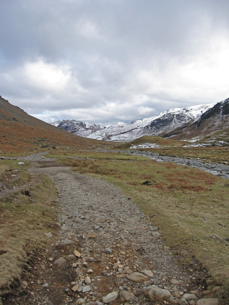 Mickleden, it always feels a long way back to the ODG from the bottom of Rossett Gill
