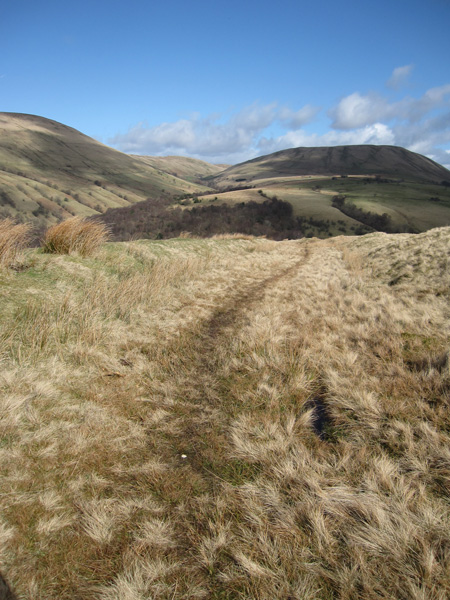 Looking north to Harter Fell (the Howgill one)
