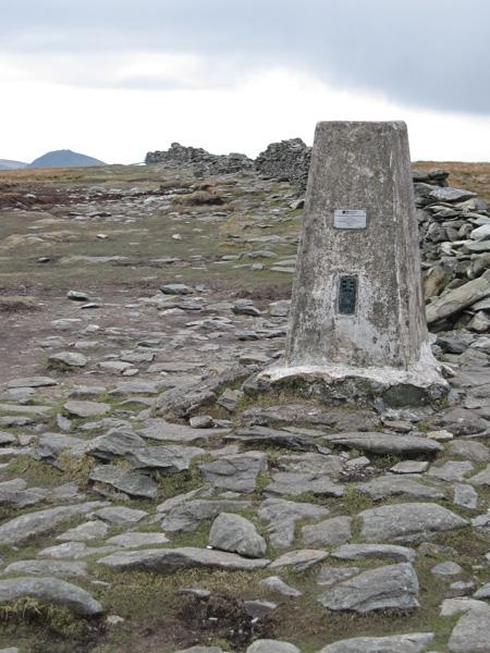 High Street's summit trig point