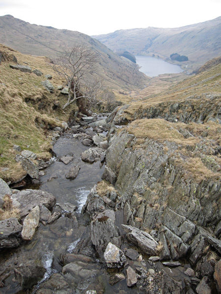 Looking down on Mardale Head from Small Water Beck