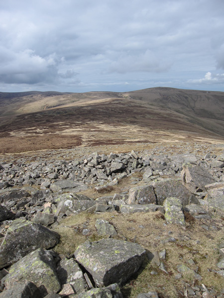 The ridge to High Pike