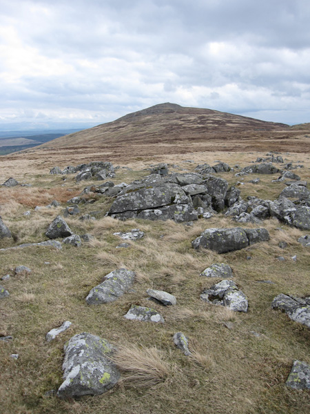 Looking back to Carrock Fell