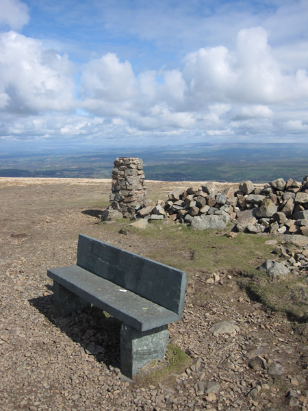 High Pike summit