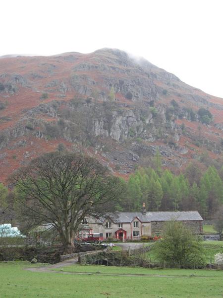 Brimmer Head Farm under Helm Crag