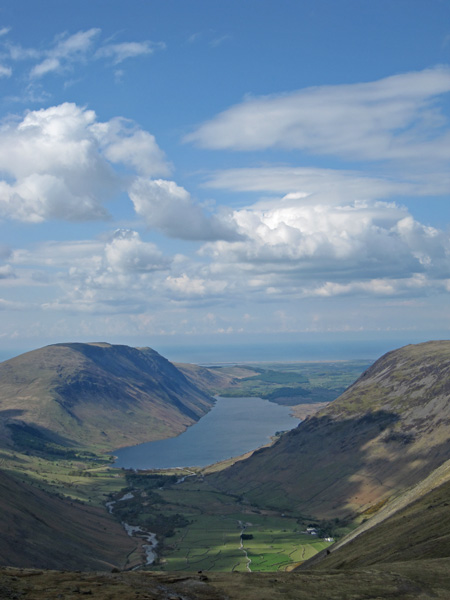 Wasdale and Wastwater from Beck Head