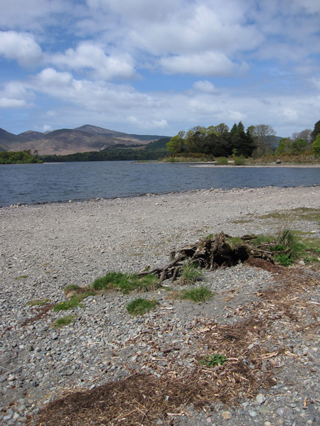 Derwent Water is low at the moment