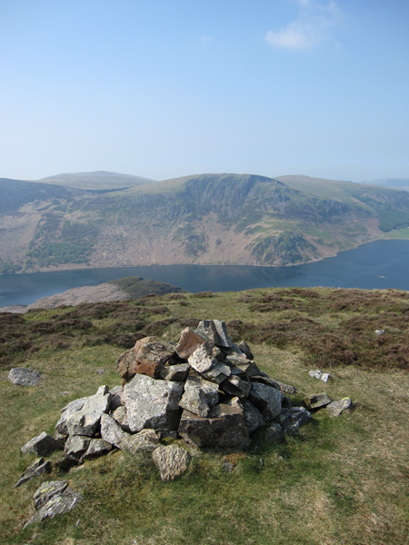Ennerdale Water from the summit of Herdus