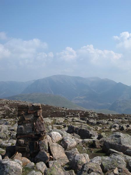 Grasmoor from Great Borne's summit
