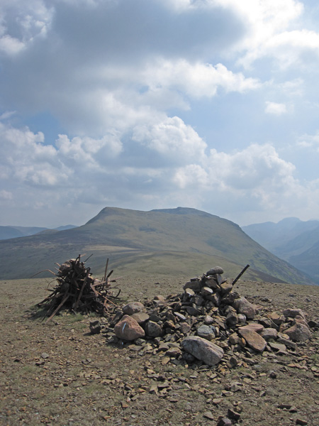 Red Pike and High Stile from Starling Dodd's summit