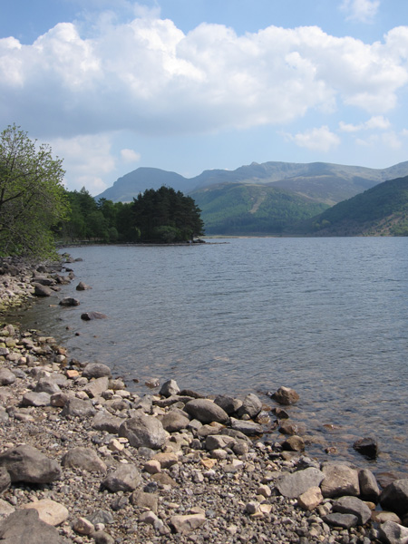 Towards Pillar and Scoat Fell from Ennerdale Water