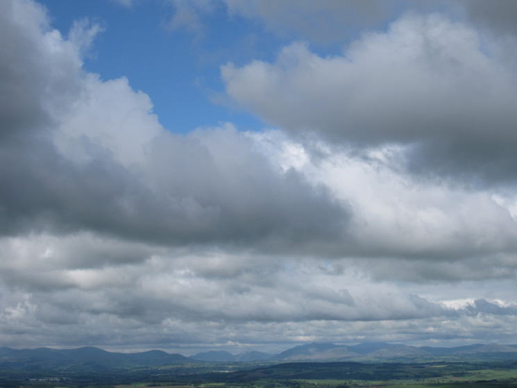 Looking across to the northern Lake District