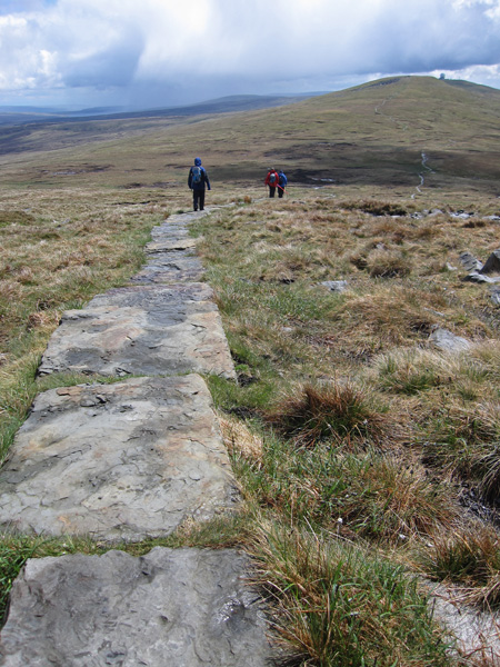 On the Pennine Way for a short section