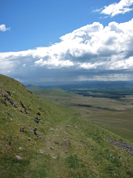 The view south from Wildboar Scar