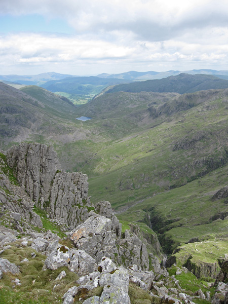 North from Lingmell