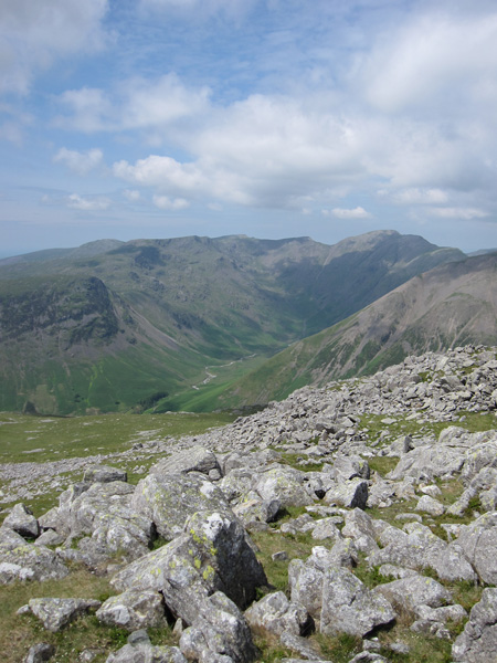 Mosedale from Lingmell