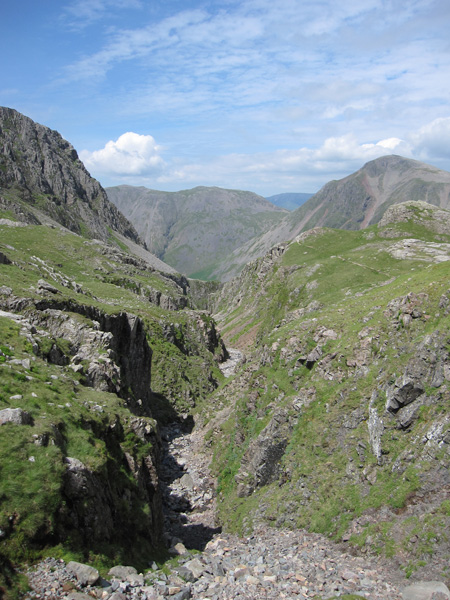 The top of Piers Gill