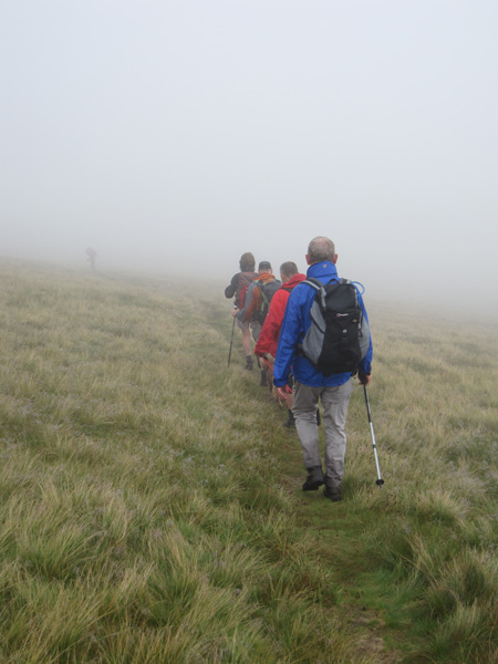 Descending off High Pike