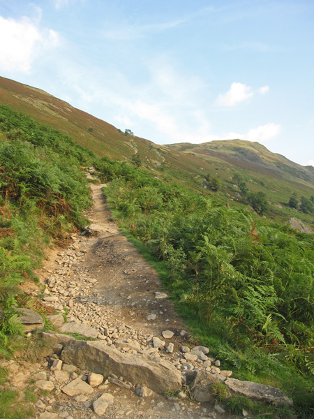 The path to Boredale Hause