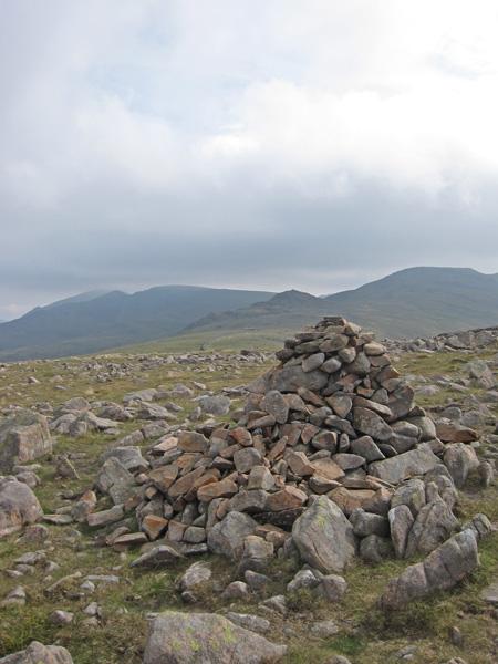 Caw Fell's summit cairn