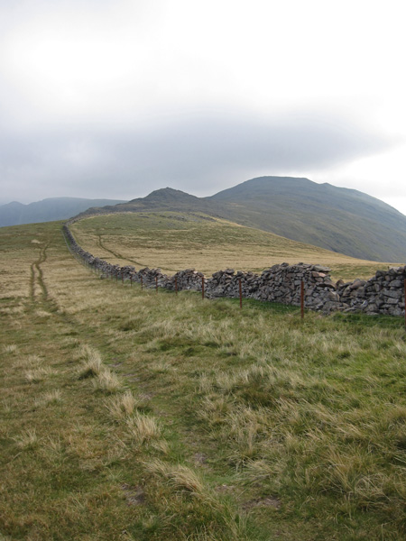 Little Gowder Crag and Haycock, just follow the wall