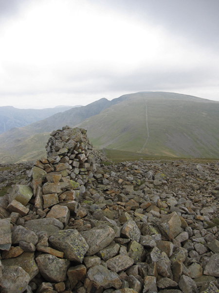 Steeple and Scoat Fell from Haycock's summit