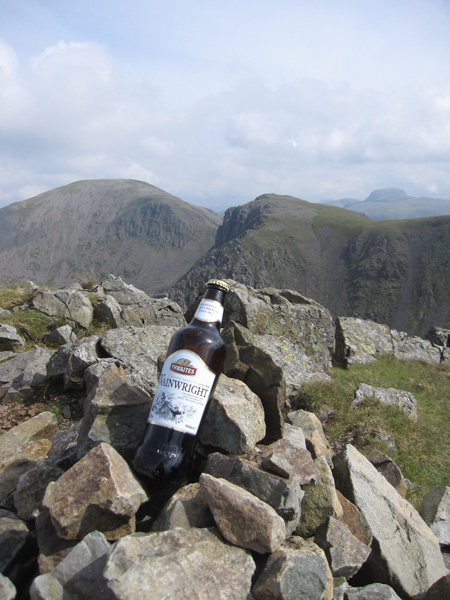 Pillar, Black Crag and Great Gable from Steeple's summit