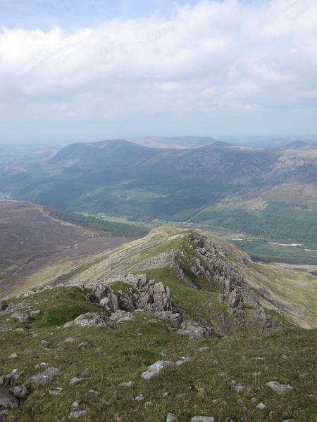 Steeple's north ridge