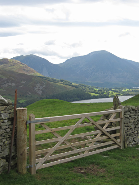 Looking over Loweswater to Grasmoor