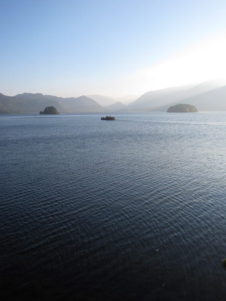 Looking up Derwent Water from Friar's Crag