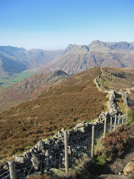 The ridge to Side Pike