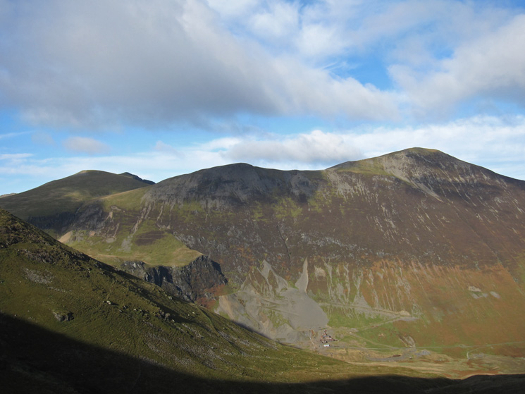 Sand Hill, Hopegill Head and Grisedale Pike