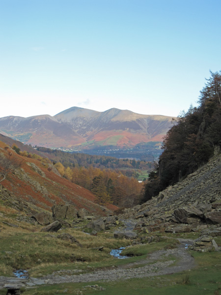 Skiddaw from Broadslack Gill