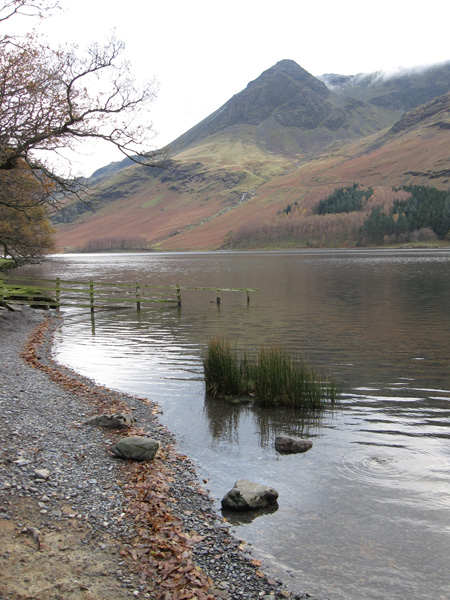 Looking across Buttermere to High Crag