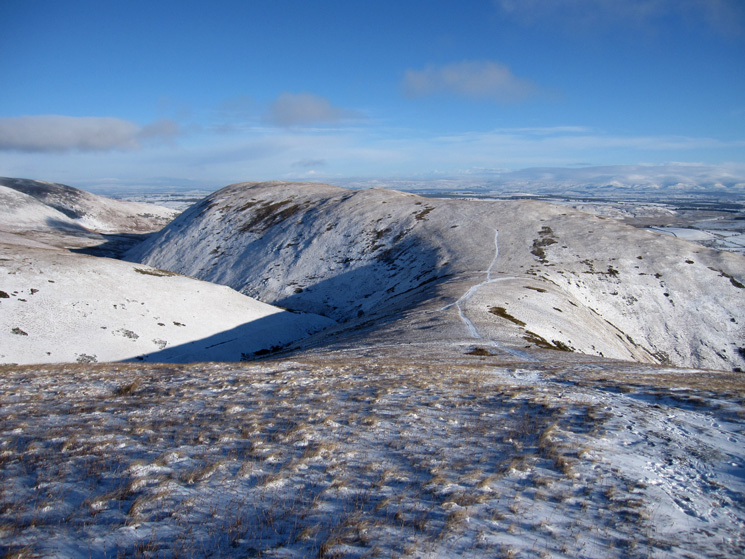 Souther Fell from Scales Fell
