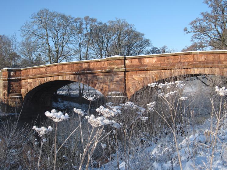 Bolton Bridge across the River Eden