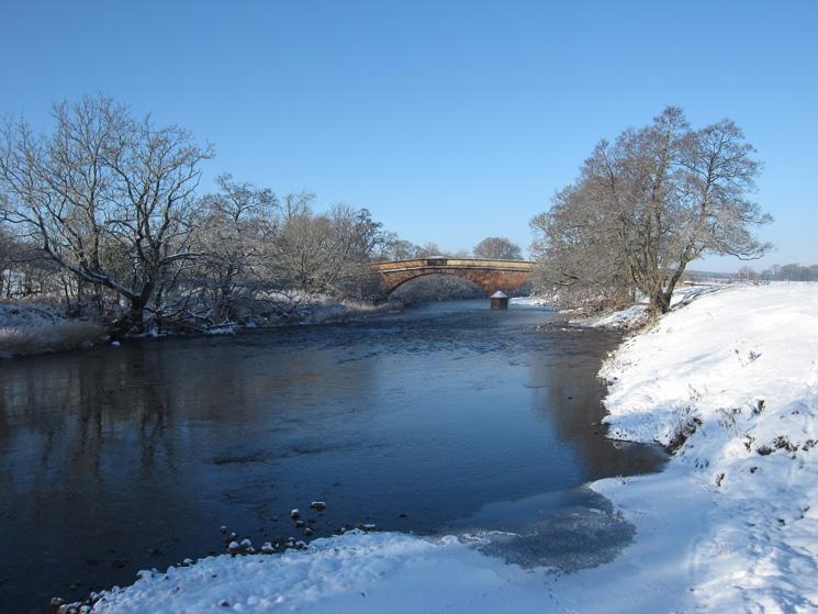 Ousenstand Bridge over the River Eden
