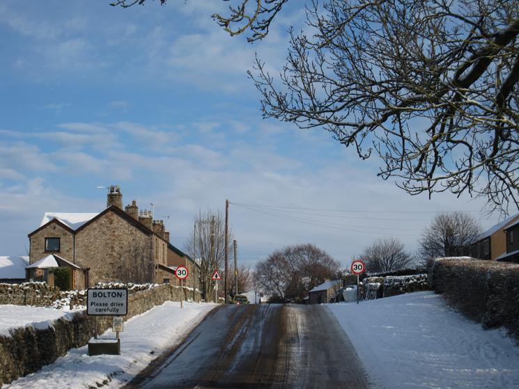 Entering Bolton