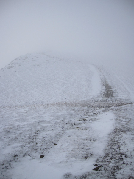 The start of the section up to the top of Doddick Fell