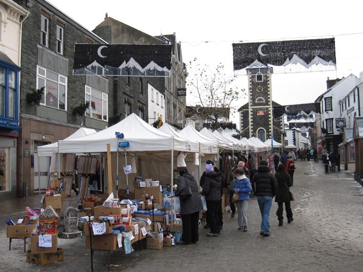 Market day in Keswick