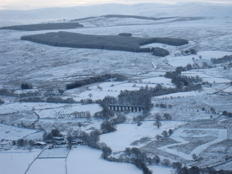 Zooming in on Mosedale Viaduct