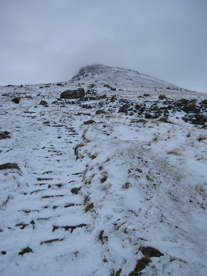 ...and up to Browncove Crags
