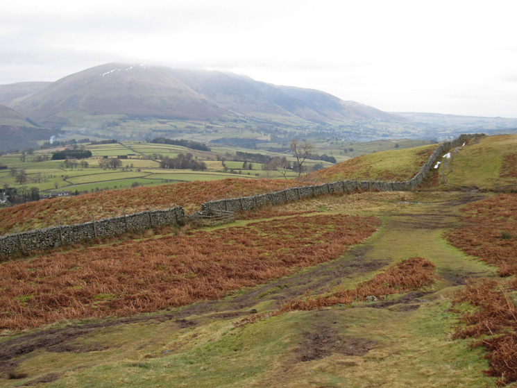Blencathra from the path to Rakefoot