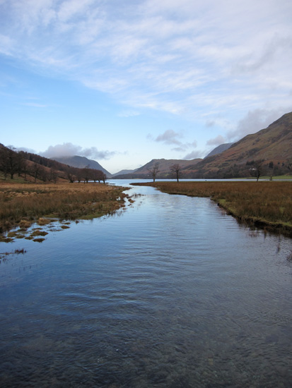 Towards Buttermere from Peggy's Bridge