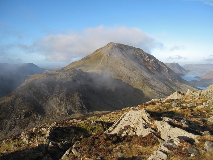 Seat and High Crag from higher up